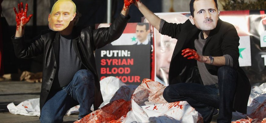 Rusya ve İran destekli Esed rejimi 6 ayda 2 bin 900'den fazla varil bombası attı