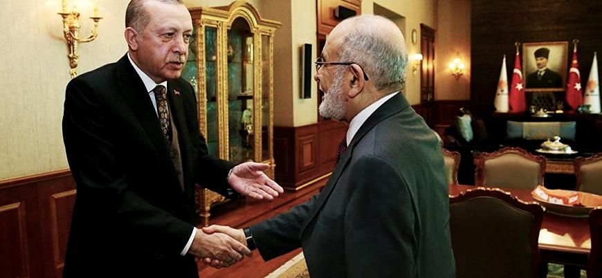 Erdoğan'dan Saadet Partisi lideri Karamollaoğlu'na 'birlikte çalışalım' teklifi