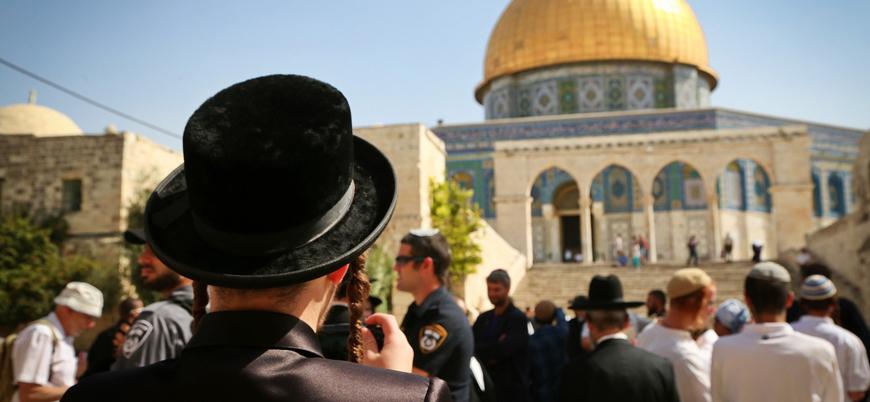 İsrailli milletvekilleri Mescid-i Aksa'ya girdi