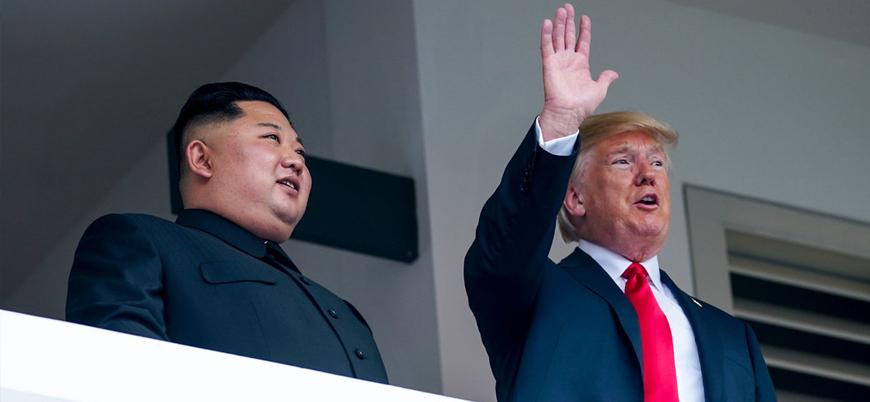 Trump: Çin Kuzey Kore'ye müzakereleri bitirmesi için baskı yapıyor