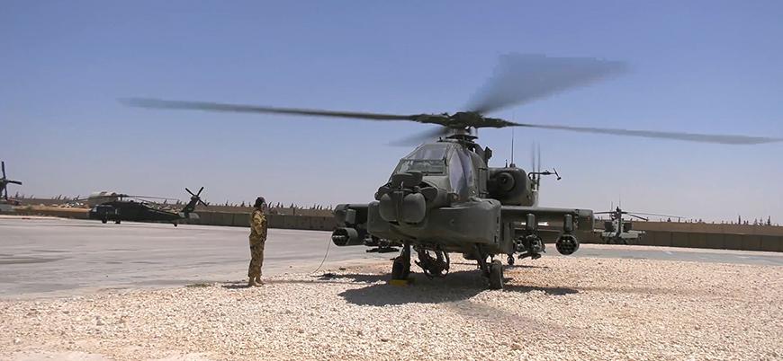 ABD, Fırat'ın doğusundaki üsten görüntüler yayınladı