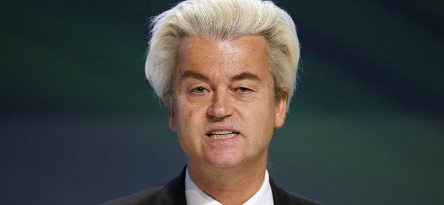 Wilders: Denk ve Erdoğan sevicileri hemen defolsun gitsin