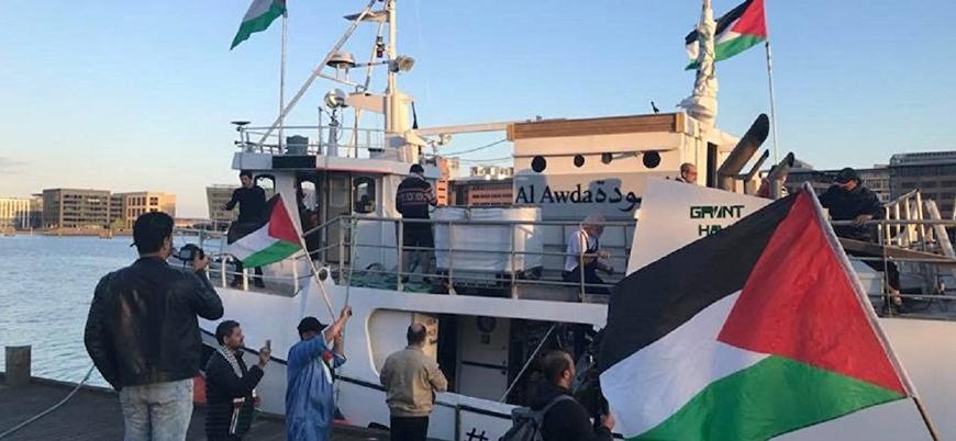 İsrail Gazze ablukasını kırmak isteyen gemiyi durdurdu