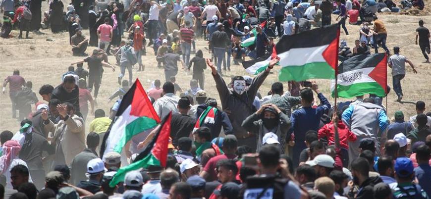 Filistinli gruplar Gazze'deki gösterileri artıracak