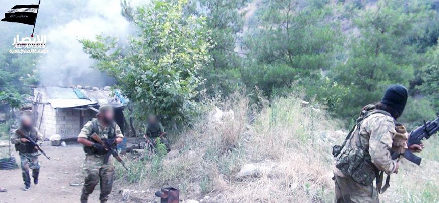 Ensar el İslam, Türkmen Dağı baskınının görüntülerini yayınladı