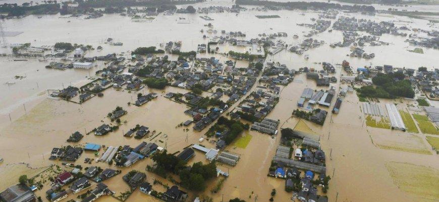 Japonya'daki selde ölü sayısı 200'e yaklaştı