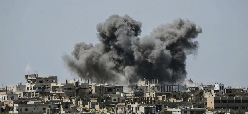 Rusya-Esed ittifakı İdlib'i vurmaya devam ediyor