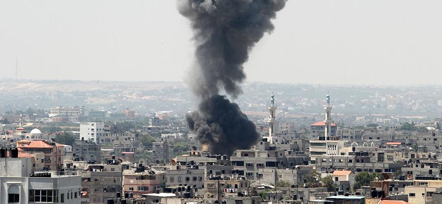 İsrail Kassam Tugayları'nı vurdu