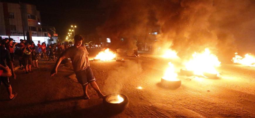 Sistani'den destek: Irak'ta protestolar dalga dalga yayılıyor