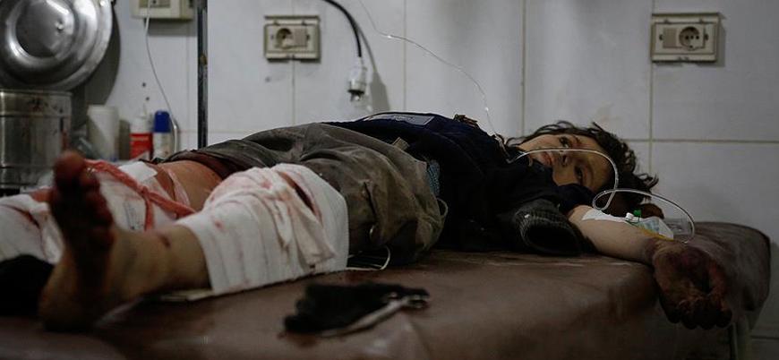 Esed rejimi tarlada çalışanları bombaladı: 3 çocuk öldü