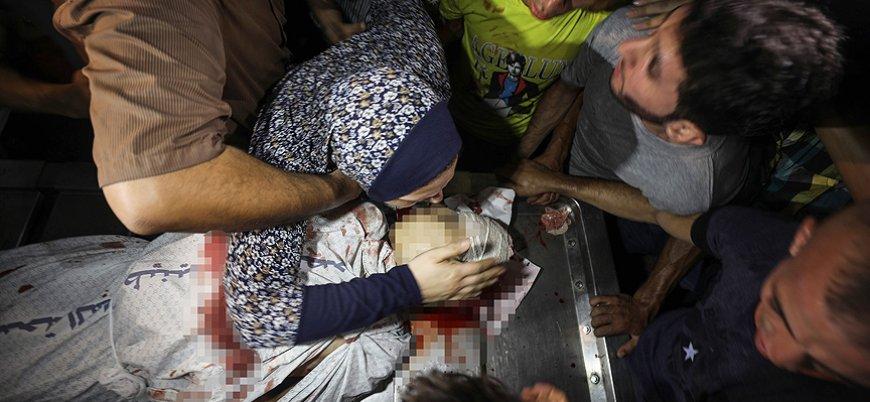 İsrail'in saldırısında 2 Filistinli çocuk yaşamını yitirdi