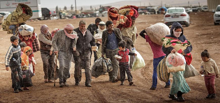 Dera'dan İdlib'e zorunlu tahliyeler başladı