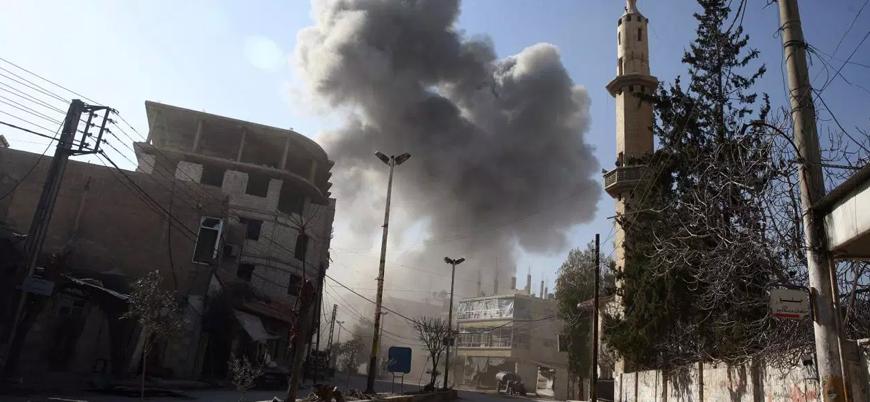 İsrail Halep'te rejim hava üssünü vurdu