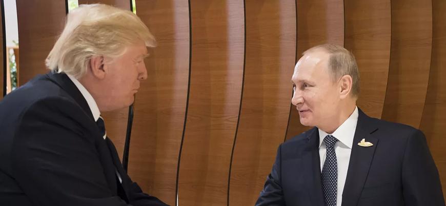 Helsinki'de Trump ve Putin'e protesto