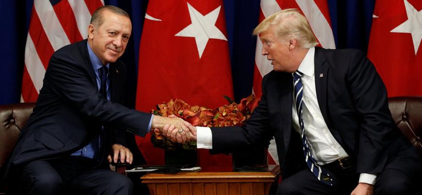 Erdoğan Trump ile Suriye'yi görüştü