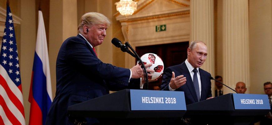 Trump: Putin de İsrail'e yardım ediyor