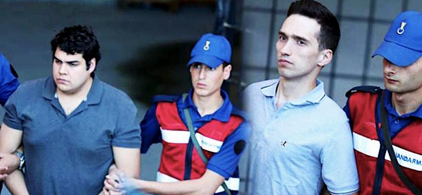 Yunan Bakan: 2 askerimiz Erdoğan'ın talimatıyla tutuklandı