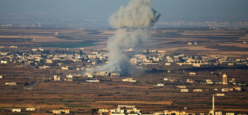 Suriyeli siviller Esed'den İsrail sınırına kaçıyor