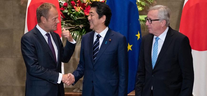 Avrupa Birliği ve Japonya arasında ticari sınırlar kalkıyor