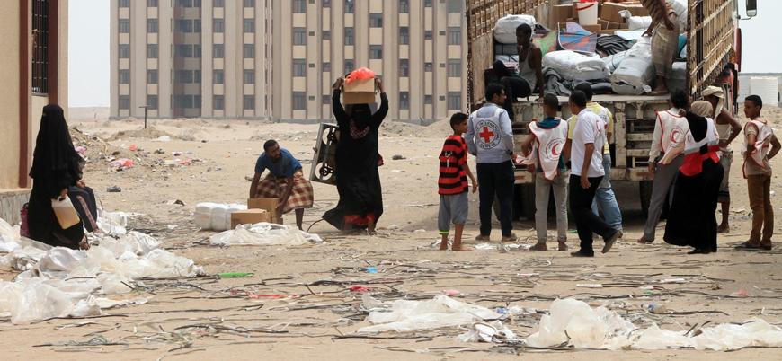Hudeyde'de 7 sivil Husi saldırısında öldü