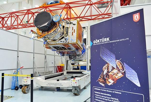 TSK'ya istihbarat desteği: Göktürk-1 uzaya fırlatılıyor