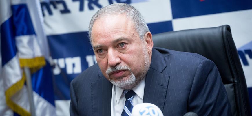 Liberman tehdit etti: Yıkım ve can kaybından Hamas sorumlu