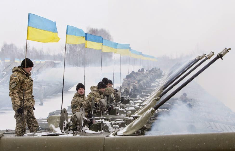 Ukrayna ordusundan Rusya'ya gözdağı