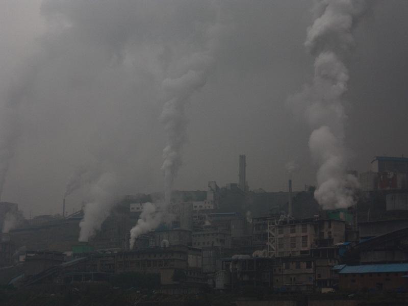 Çin'de hava kirliliği rekor seviyede