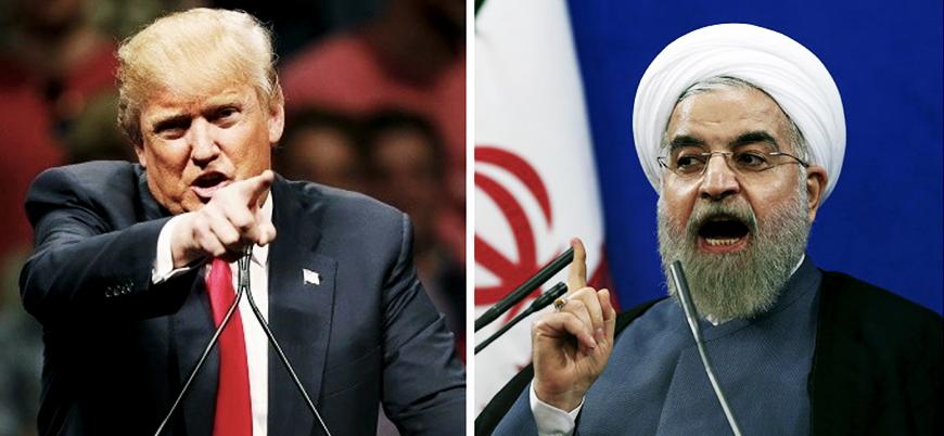 Trump'tan Ruhani'ye açık tehdit: Dikkatli ol!
