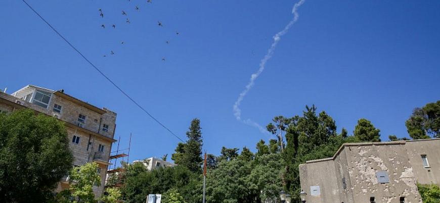 Golan'da sirenler çaldı: İsrail'de roket alarmı