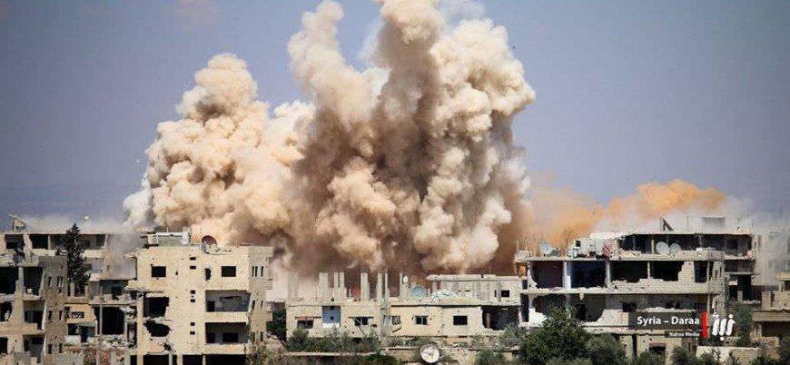 Rusya ve rejim Suriye'nin güneyinde 341 sivili öldürdü