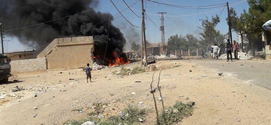 Suriye'de 'Fırat Kalkanı' bölgesinde bombalı araç saldırısı