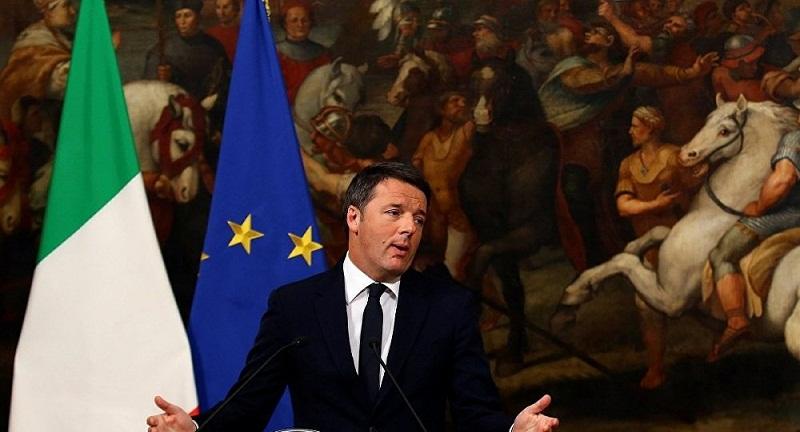 İtalya Başbakanı Renzi istifa edecek