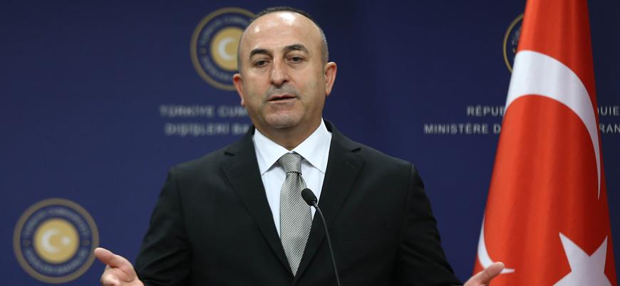Çavuşoğlu: ABD'nin İran yaptırımına uymak zorunda değiliz