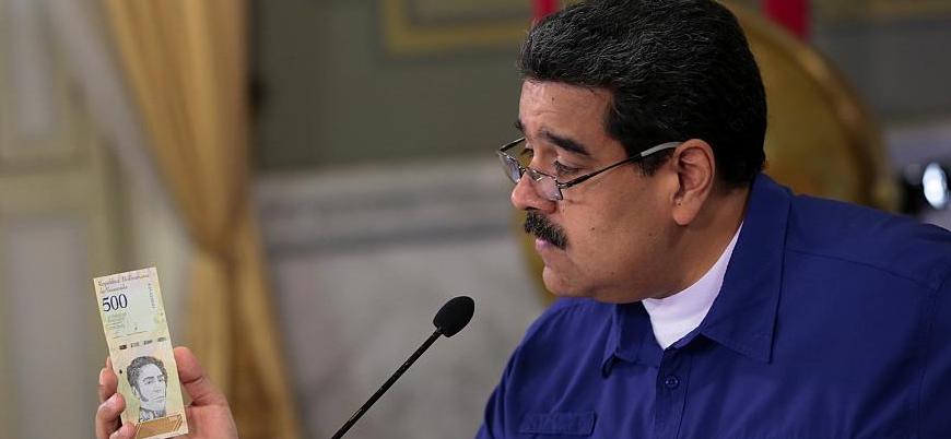 Venezuela paradan 5 sıfır atıyor