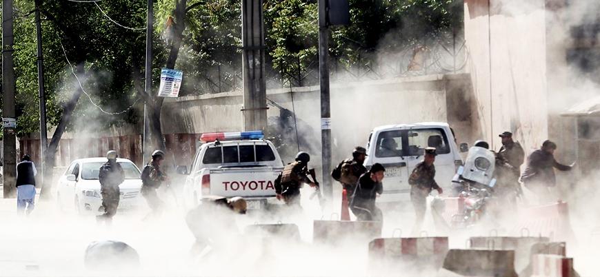 Afganistan'ın başkenti Kabil'de Başkanlık Sarayı'na füze saldırısı
