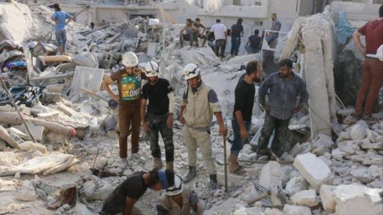 """""""Halep'e seyirci kalanlar suça ortak olur"""""""