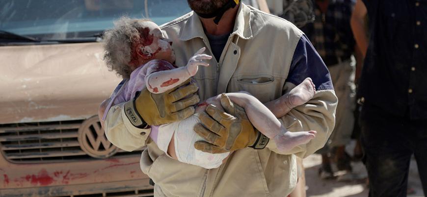 Suriye'de 7 senede en az 7 bin çocuk savaş kurbanı oldu