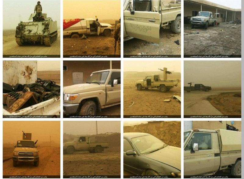 Şii milisler Musul'da kum fırtınasına takıldı