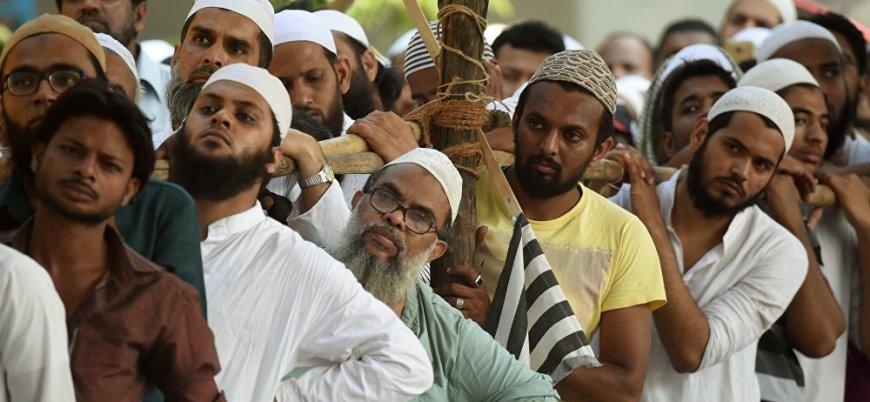 Hindistan 4 milyon Müslümanı vatandaşlıktan çıkartıyor