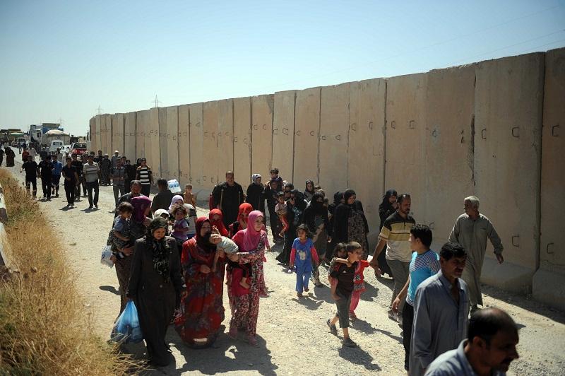Telafer'den göç eden 80 Türkmen çocuk öldü