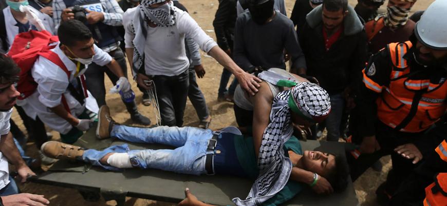 """""""İsrail kemiği toza çeviren kurşunlar kullanıyor"""""""