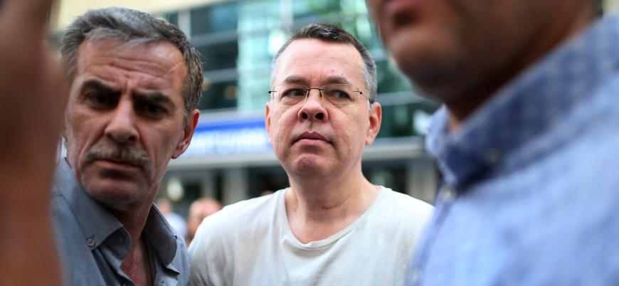 Rahip Brunson'ın yurt dışı yasağına itirazı reddedildi