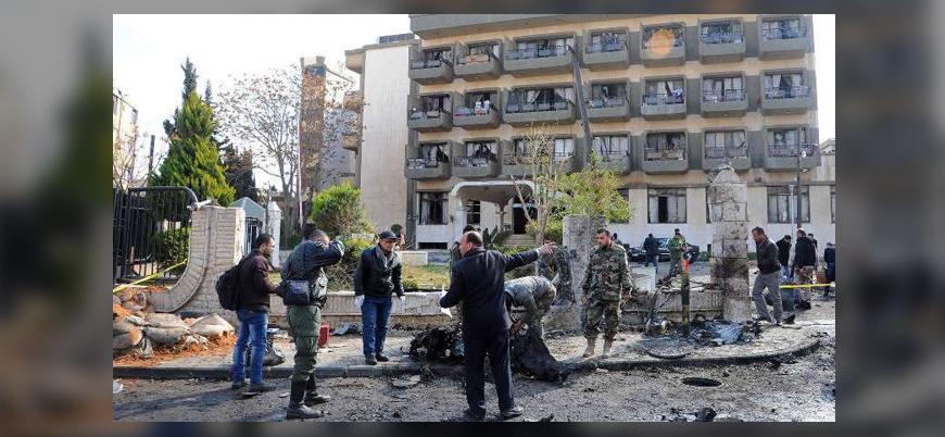 Başkent Şam'da rejimin istihbarat subaylarına saldırı