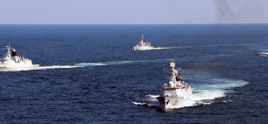 Japonya Çin'in savaş gemilerinden rahatsız