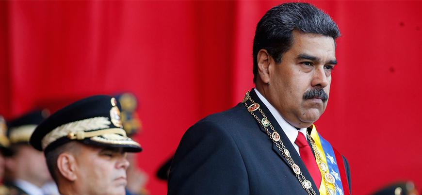 Maduro'ya bomba yüklü İHA saldırısı