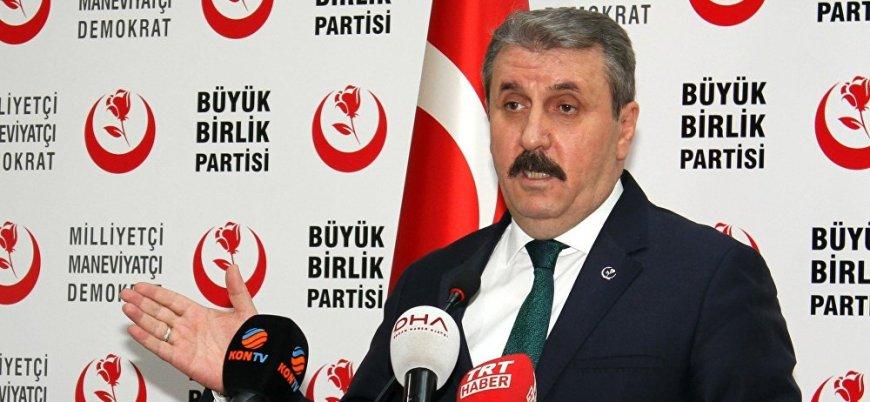 Destici: İdam cezası teklifimizi Meclis'e sunacağız