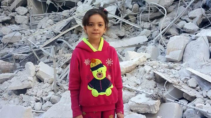Halepli Bana Alabed güvende