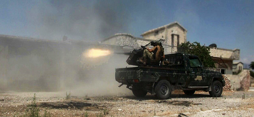 Rusya destekli Esed rejimi Hama'da kara saldırısı başlattı