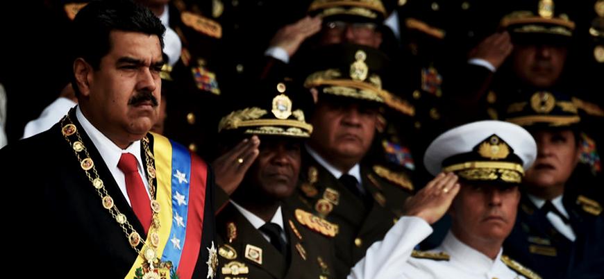 Maduro'ya suikast girişiminde altı gözaltı